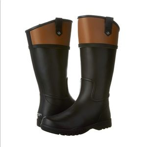 Sherry Topsider Nellie Kate High Rain Boots